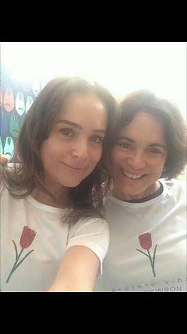 Gabi e Regina Duarte